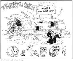 coloring pages animals hibernating hibernating animals coloring pages hibernation coloring sheet
