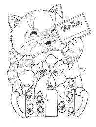 dessin de chat a imprimer gratuit dessincoloriage