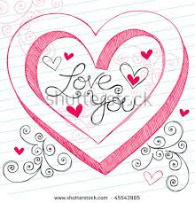 you it you buy it s day heart handdrawn 3d valentines day heart stock vector 45543985
