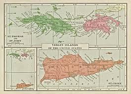 Map Of Islands In The Caribbean by