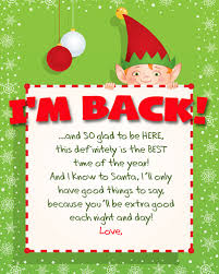 printable elf on the shelf arrival letter elf on the shelf arrival letter free printable i think we could be