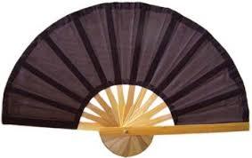 asian fans brown bamboo fan