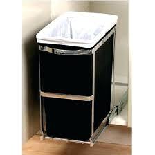 trash can cabinet insert under cabinet trash can inside cabinet garbage can garbage can