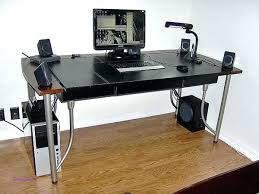 standing desk cable management desk with cable management office standing desk retractable