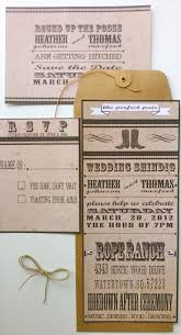 western theme wedding invitations western wedding invitation