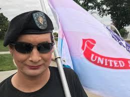 Kansas travel ban images Hundreds rally in kansas city against trump 39 s transgender military JPG