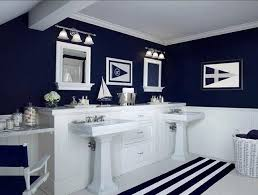 Navy And White Bathroom Ideas Staggering Navy White Bathroom Ideas Navy Blue And White Bathrooms