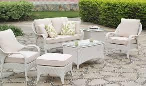 White Wicker Patio Chairs Bahia Patio Furniture 78300 By South Sea Rattan 78301 78302