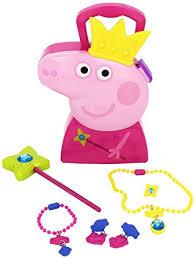 amazon princess peppa pig child u0027s jewelry case kids