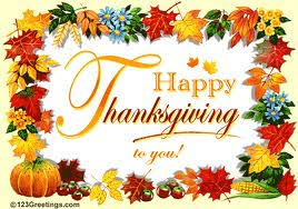 happy thanksgiving wishing you a most safe journey flying