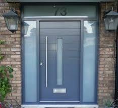 modern grey front door google search house pinterest gray