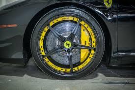 Ferrari 458 Matte Black - ferrari 458 italia gfg 3 piece forged 20