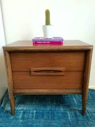Changing Tables For Sale by Bassett Furniture Mid Century Modern Night Table For Sale In