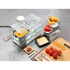 appareil en cuisine appareil à raclette transparent 2 personnes 009204 lagrange