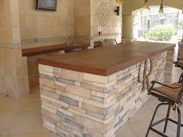 concrete top bar table bar countertops ideas about modern home bar on pinterest modern bar