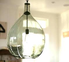 Seeded Glass Pendant Light Seeded Glass Pendant Light Rimilvets Org