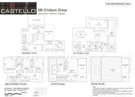 castello floor plan d 13 castello freehold strata detached by