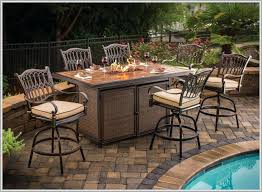 Patio Bar Height Table And Chairs Bar Height Outdoor Dining Set Thaymanhinhlg