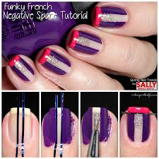 spring nail trends with sally beauty negative space tutorial