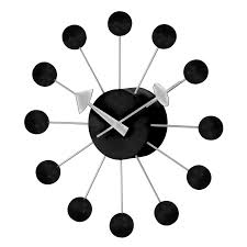 home decor wall clock aspire home accents solange round metal 30 in wall clock hayneedle