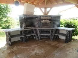 cuisine d exterieur cuisine d exterieur en brique barbecues sur mesure et sur