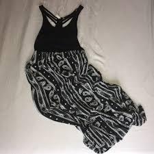 black and white dresses mudd dresses skirts black white patterned maxi dress poshmark