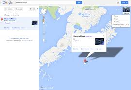 Kodiak Alaska Map by Don U0027t Know If Old But Google Maps Has A Location For Shadow Moses
