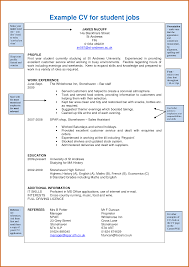 Example Resume For Students by How To Write A Music Curriculum Vitae