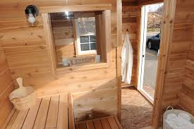 backyard sauna plans home outdoor decoration