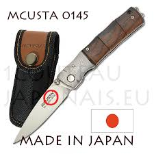 mcusta japanese pocket knive 0145