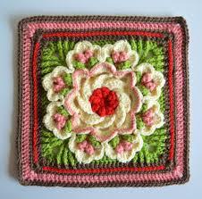 Crochet Designs Flowers Crochet Flower Square Free Pattern ƭɽღ Http Www Pinterest