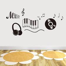 aliexpress com buy new generation music sticker beat note music aliexpress com buy new generation music sticker beat note music wall art stickers music bedroom decor dancing music note removable wall sticker from