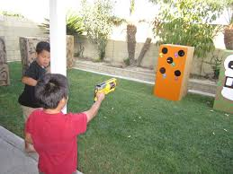 How To Play War by How To Throw A Nerf Battle Birthday Party Nerf Party Fun And Target