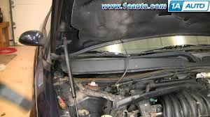 how to install replace cabin air filter ford taurus mercury sable