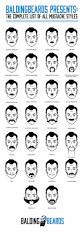best 10 mustache styles ideas on pinterest hair types
