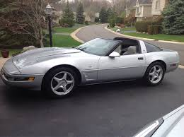 96 corvette for sale 1996 sebring silver corvette collectors edition for sale