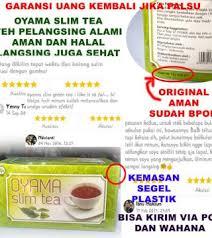 Teh Oyama oyama slim tea teh hijau pelangsing teh peluntur lemak obat
