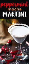 chocolate peppermint martini peppermint mocha martini the blond cook