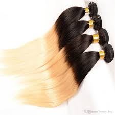 Black To Brown Ombre Hair Extensions by Cheap Ombre Hair Extensions Cheap Brazilian Virgin Straight Ombre
