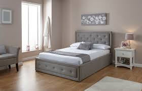 Single Ottoman Bed Milan Bed Company Hollywood 3ft Single Ottoman Bed Grey