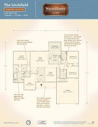 02 floor plan litchfield wayne homes