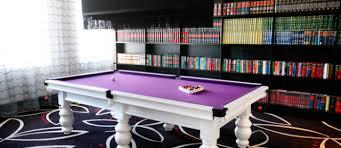 purple felt pool table african pride hotel white billiard table with purple felt in library