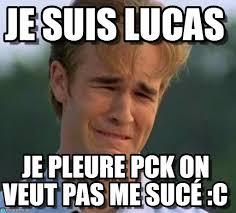Lucas Meme - je suis lucas 1990s first world problems meme on memegen