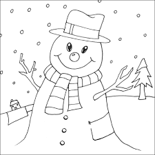 blank snowman coloring pages 28506 bestofcoloring