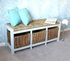 here are wicker bench with storage wicker storage bench seat