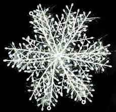 22cm design xmas christmas snow flowers tree home decorations