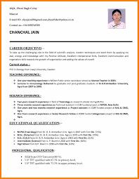 Best Teacher Resume Example Livecareer by Sample Format For Resume For Teachers Relationscreate Ga