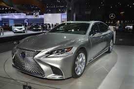 lexus cars nyc 2018 lexus ls 500 f sport debuts in new york myautoworld com