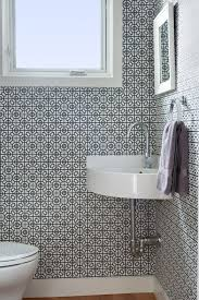Small Half Bathroom Decorating Ideas Colors Top 25 Best Small Bathroom Wallpaper Ideas On Pinterest Half