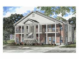 Multiplex Floor Plans Multi Family House Plans Triplexes U0026 Townhouses U2013 The House Plan Shop